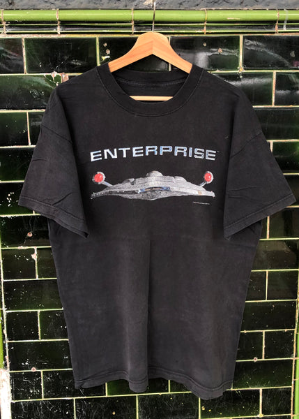 Vintage Star Trek Enterprise 2002 Tee