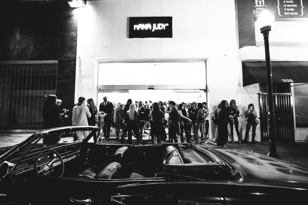 Fairfax Ave Los Angeles Flagship Store Official Launch Party