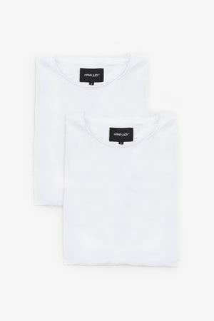 BASIC CREW TEE - WHITE BUNDLE
