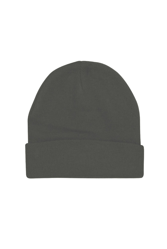 The Classic Beanie - Charcoal