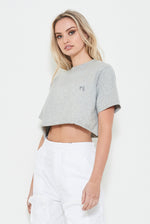 AUTHENTIC CROP TEE