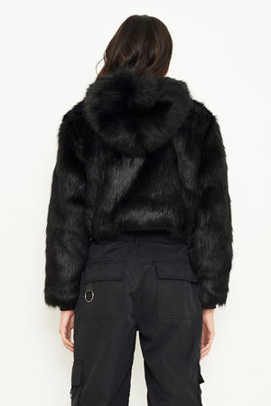 THE IVY FAUX FUR JACKET
