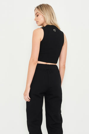THE AUTHENTIC CROP RIB TOP