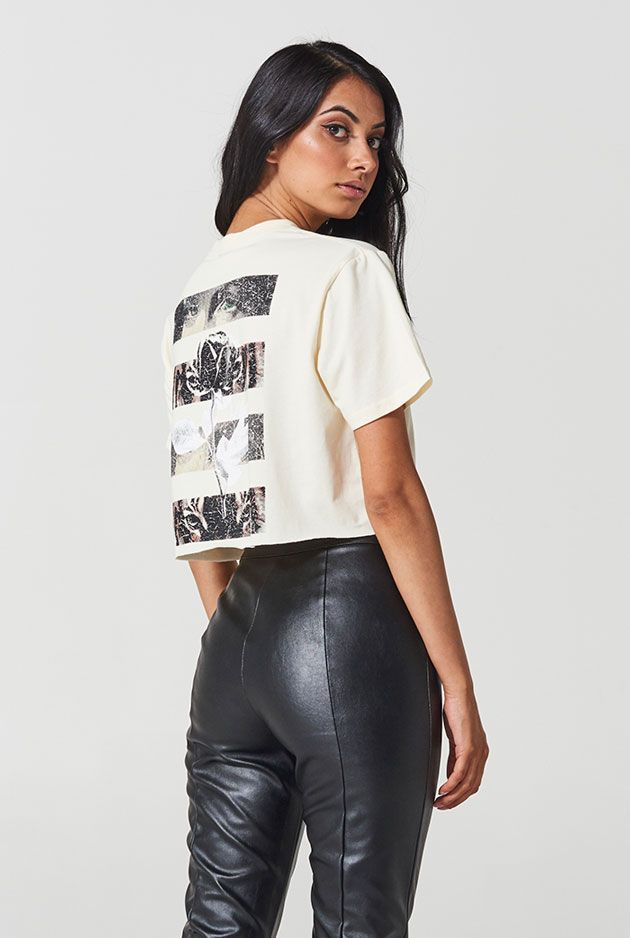 THE PROVENCE CROP TEE