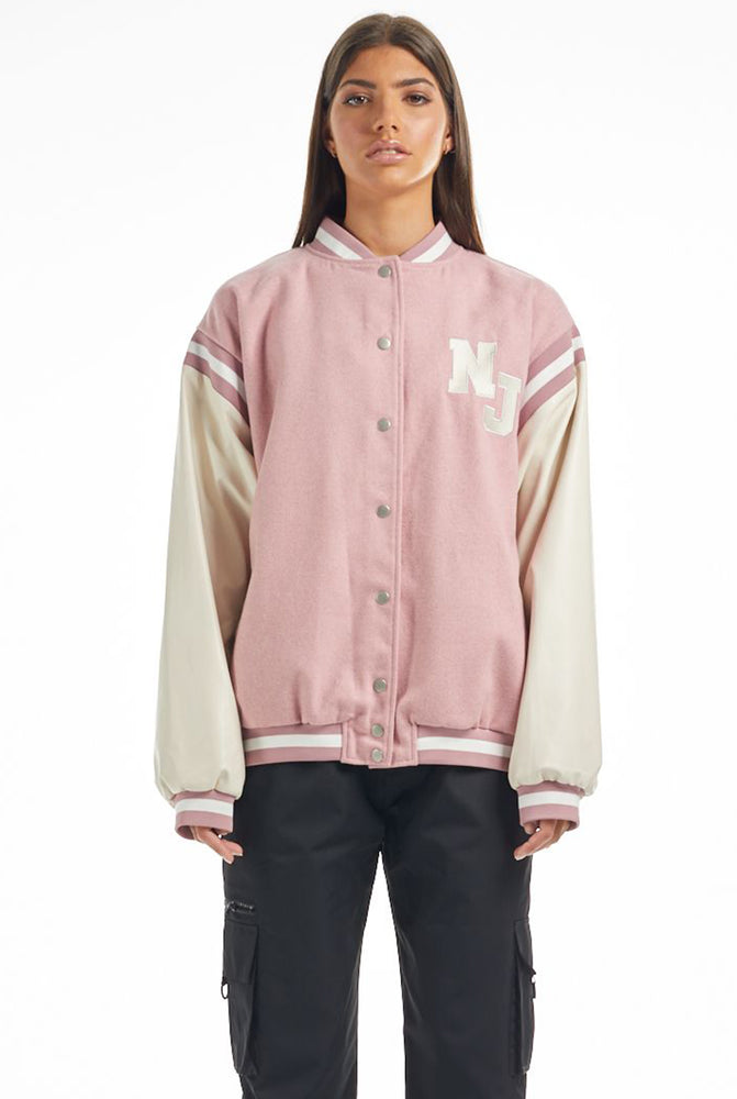 THE NJ AUTHENTIC VARSITY BOMBER