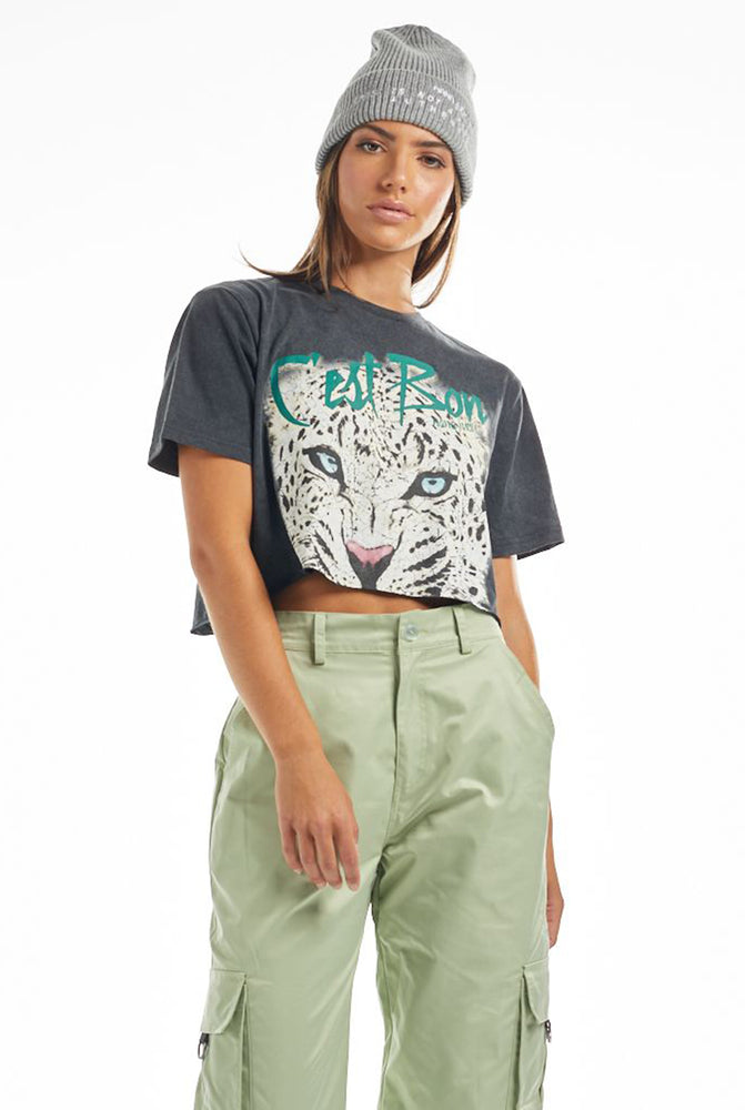 THE C'EST BON CROP TEE