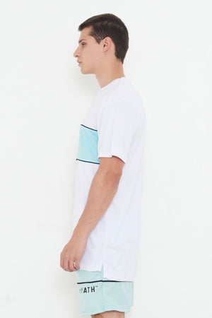 THE ATH TEE - COLOUR BLOCK