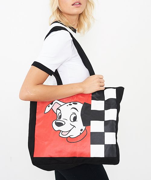 DISNEY 101 DALMATIANS LUCKY TOTE BAG