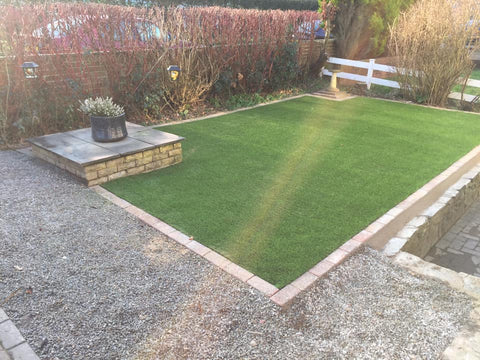 Plymouth Artificial Grass Installation in St Budeaux