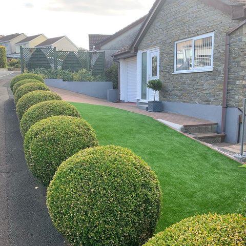 Plymouth Artificial Grass Installation in Mutley