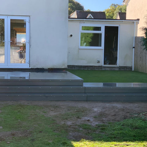Plymouth Artificial Grass Installation in woolwell