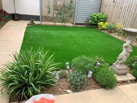 Plymouth Artificial Grass Installation in Leigham