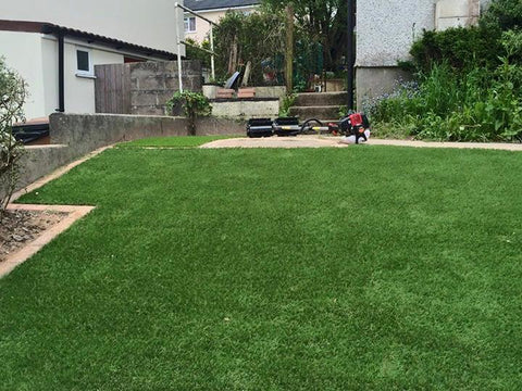 Plymouth Artificial Grass Installation in Honicknowle