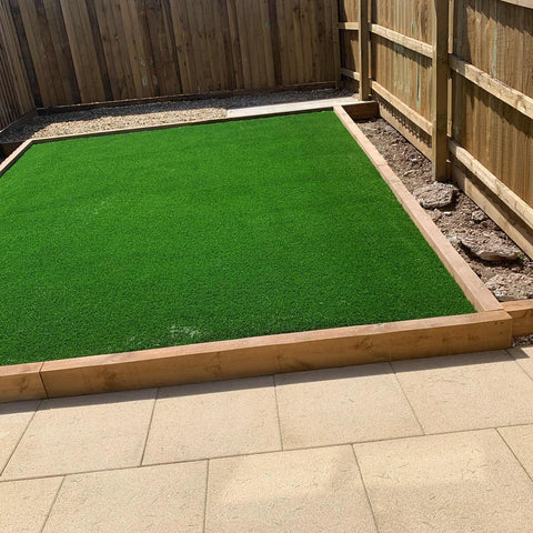 Plymouth Artificial Grass Installation in Hooe