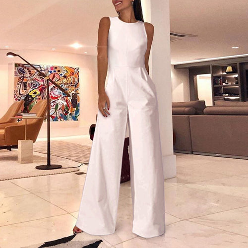 Gorgeous Wide Leg Jumpsuit With Pockets
