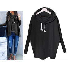 Load image into Gallery viewer, High Collar Long Sleeve Loose Vest