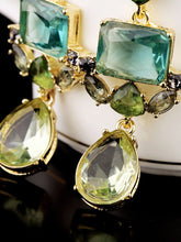 Load image into Gallery viewer, Captivating Faux Crystal Drop Earrings