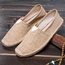 Load image into Gallery viewer, Flat  Linen  Round Toe  Casual Flat & Loafers
