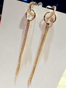 New Style Luxury Women Long Earrings
