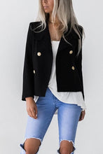 Load image into Gallery viewer, Turn Down Collar  Double Breasted  Plain Blazers
