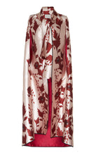 Load image into Gallery viewer, Red Printed Loose Sleeveless Shawl