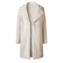 Load image into Gallery viewer, Fashion Lapel Long Sleeve Plain Casual Coats