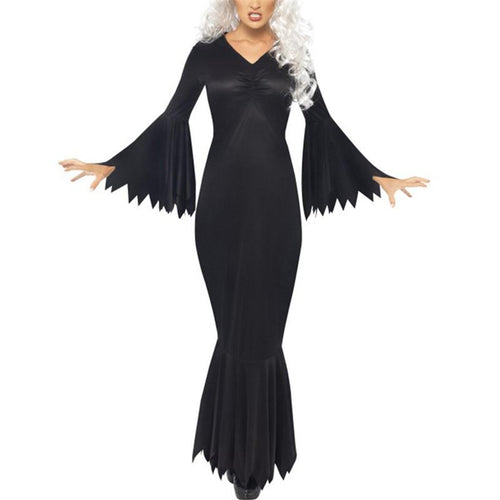 Halloween Horror Costume Party Cosplay Bat Costumes Maxi Dress