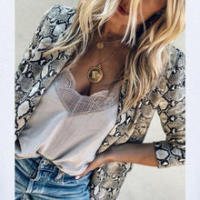 Load image into Gallery viewer, Fashion Animal Printed Long Sleeve Blazers