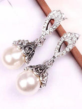 Load image into Gallery viewer, Faux Pearl Elegant Earrings For Women