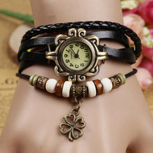 Load image into Gallery viewer, Fashion Vintage Cowhide Faux Leather Bracelet  Watches