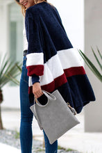 Load image into Gallery viewer, Fashion Stripe Loose Long Sleeve Cardigans