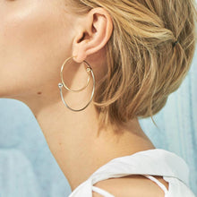 Load image into Gallery viewer, Fashion Geometric Metal Earrings