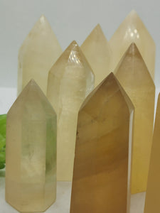 Honey Calcite Tower