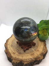 Load image into Gallery viewer, Labradorite Sphere - OOAK