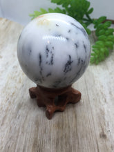 Load image into Gallery viewer, Dendritic Opal Sphere - OOAK
