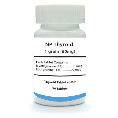 NP Thyroid 1 Grain 30 Count