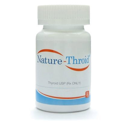 NatureThroid 1 ¼ Grain (81.25 mg) Thyroid Medication