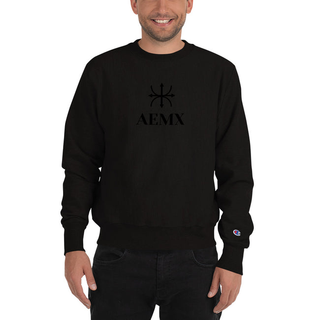 "CHAMPION SWEATSHIRT ""AEMX"""