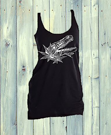 Claw Raptor Racer Back Tank Top