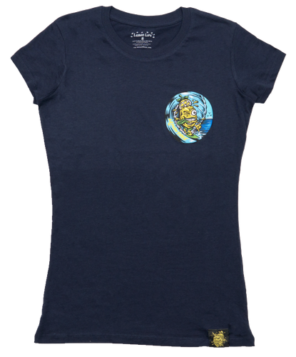Lemon Life Ladies Surfing Lemon T Shirt