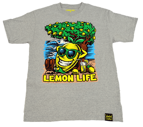 Lemon Life Beach T Shirt