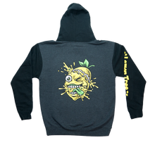 Load image into Gallery viewer, Lemon Life Lemon Splat Two-Tone Hoodie with Arm Print