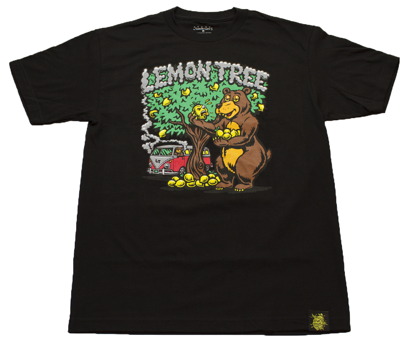 Lemon Life Lemon Bear T Shirt
