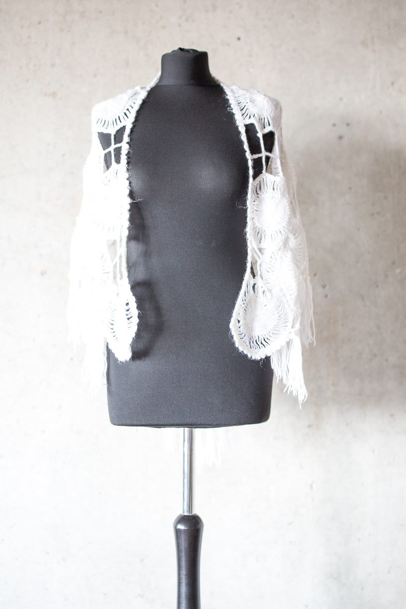 BOHO EXCLUSIVE BRIDAL STOLE blossom white