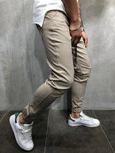 Load image into Gallery viewer, Casual Plain Slim Elastic Waist Pencil Pants