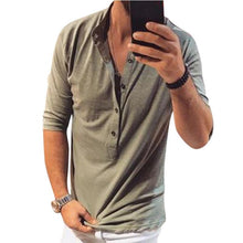 Load image into Gallery viewer, New In Men's Casual Plain T-Shirts