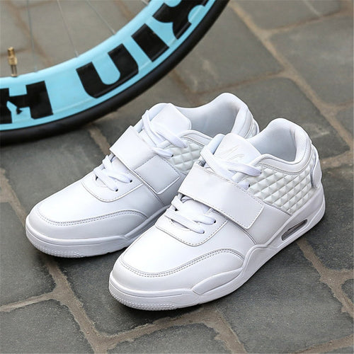 Fashion Casual Sport Plain Breathable Basketball Shoes