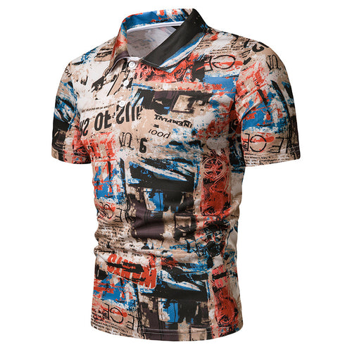 Summer Graffiti Print T-Shirt