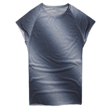 Load image into Gallery viewer, Summer Casual Round Neck Gradient T-Shirt Top