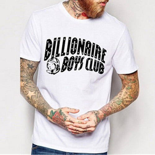 Billionaire Boys Club Men's   Cotton Round Neck Print T-Shirt